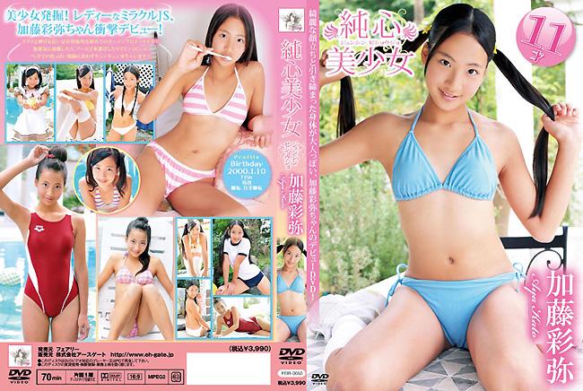加藤彩弥   純心美少女   DVD