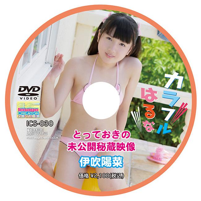 伊吹陽菜   カラフルはるな とっておきの未公開秘蔵映像   DVD