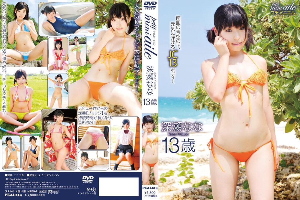 深瀬なな   petit mini aile 3   DVD