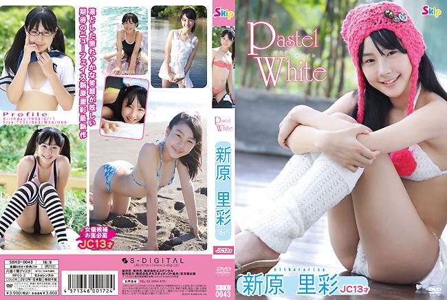 新原里彩 | Pastel White | DVD