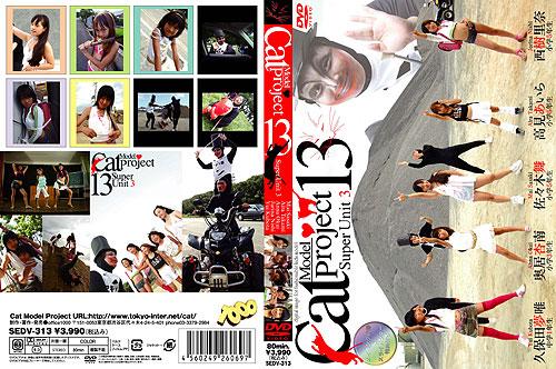 佐々木舞, 高見あいら, 奥居杏南, 西樹里奈, 久保田夢唯 | Cat Model Project Vol.13 | DVD
