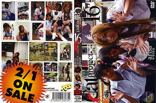 arisa, YUKIE, さとね | Cat Model Project Vol.16 | DVD