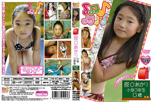原口あかり | 小学3年生8歳 | DVD