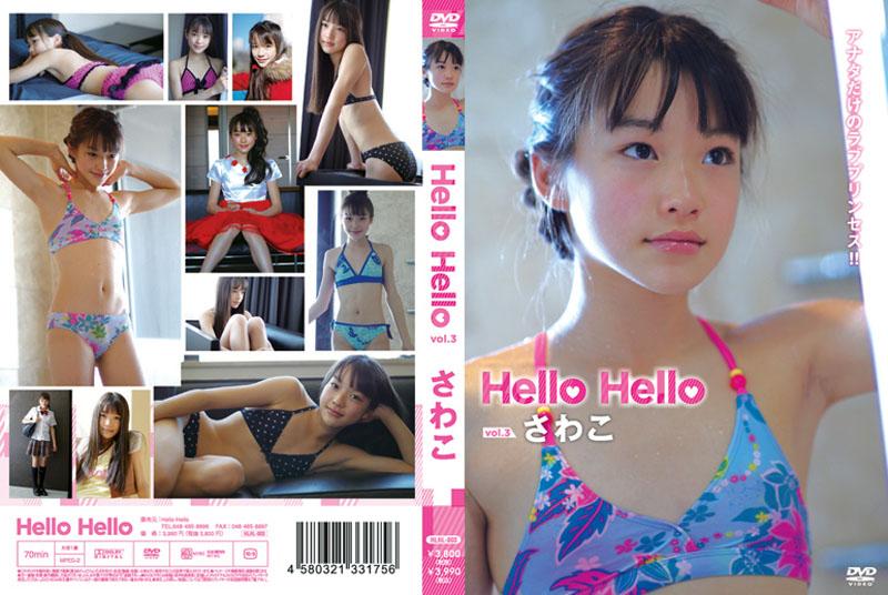 さわこ   ハローハロー vol.3   DVD